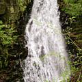 Water Roaring Down Cascade Falls, Farmington, Maine #30377 by John Bald