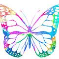 Watercolor Butterfly by Zuzi 's