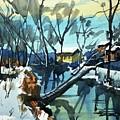 Watercolor3694 by Ugljesa Janjic