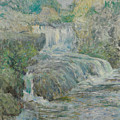 Waterfall by John Henry Twachtman