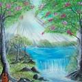 Waterfall by Tony Rodriguez