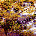 Waterfalls And Fall Colors by Paul W Faust -  Impressions of Light