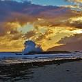 Waves At Sunrise by Craig Wood