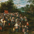 Wedding Banquet by Jan Brueghel the Elder
