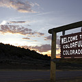 Welcome To Colorful Colorado by Jerry McElroy
