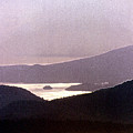 West Coast Mountain Sunset 2 Ae 24 by Lyle Crump