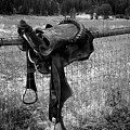 Western Saddle by LKB Art and Photography