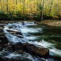 Whitaker Falls In Autumn by Thomas R Fletcher