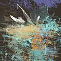 White Water Lily by Susanne GaldenFredriksson