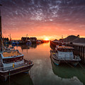 Whitstable Sunset by Ian Hufton