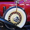 Wide Whitewall Spare Tire by Arthur Dodd