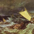 William Turner - The Shipwreck Joseph Mallord William Turner by Eloisa Mannion