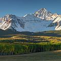 Wilson Peak Panorama by Aaron Spong