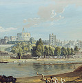 Windsor Castle From The Eton Shore by MotionAge Designs