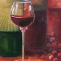 Wine Glass by Gail Salitui