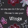 Wings by Sweeping Girl