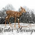 Winter Blessings by Lisa Hurylovich