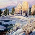 Winter by Elena Sokolova