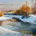 Winter Evening by Roman Romanov