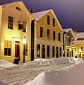 Winter In Historic Downtown New Bedford by Denis Tangney Jr