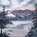 Winter In Three Colors by Larry Hamilton