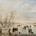 Winter Landscape by Anthonie Verstralen