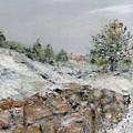 Winter Landscape by Kim Hamilton