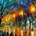 Winter by Leonid Afremov