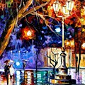 Winter Rain by Leonid Afremov
