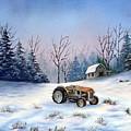 Winter Rest by Jerry Walker