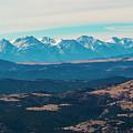 Winter Sangre De Cristo Mountains by Steve Krull