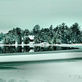 Winter Stream by Rick Couper