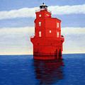 Wolf Trap Lighthouse by Frederic Kohli