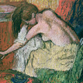 Woman Drying Herself by Edgar Degas