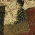 Woman Sitting By The Fireside by Edouard Vuillard