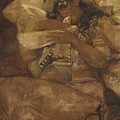 Woman With Dove by Antonio Rivas