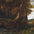 Woods Entrance by Gustave Courbet