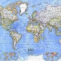 World Map by Dorothy Binder