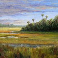 Yellow Marsh by Beth Maddox