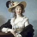 Yolande-martine-gabrielle De Polastron Duchesse De Polignac Lisabeth Louise Vige Le Brun by Eloisa Mannion