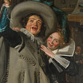 Yonker Ramp And His Sweetheart by Frans Hals