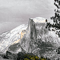 Yosemite Half Dome by Chuck Kuhn
