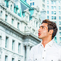 Young American Businessman Looking For Success. by Alexander Image