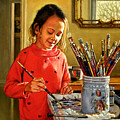 Young Artist by John Lautermilch