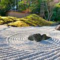 Zen Garden At A Sunny Morning by Ulrich Schade