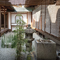 Zen Garden, Kyoto Japan by Perry Rodriguez