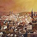 Zurich Skyline by Ryan Fox
