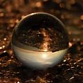 10-17-16--8585 The Moon, Don't Drop The Crystal Ball, Crystal Ball Photography by Vicki Hall