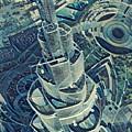 Burj Khalifa by Melinda Sullivan Image and Design