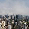 Chicago Skyline Aerial Photo by David Oppenheimer
